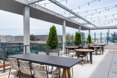 Talk about those views! Enjoy City Living @ParcRiverside Apartments #DCCaptiol #CityVibe #NavyYardDC #OutdoorAmenities