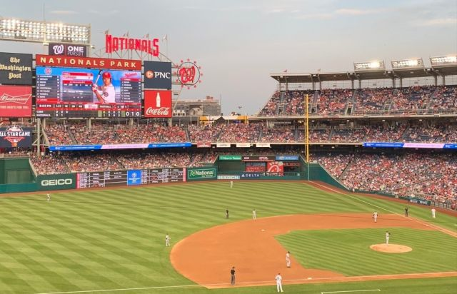 We are excited about baseball's #openingday and hope the very best for our DC team @nationals!  #DC #TollBrosApts #ParcRiverside