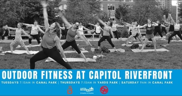 #TollBrothers #ParcRiverside #CapitolRiverfront #NavyYardDC #outdoor_fitness  https://www.eventbrite.com/e/outdoor-fitness-at-capitol-riverfront-tickets-169665577309?utm-campaign=social&utm-content=attendeeshare&utm-medium=discovery&utm-term=listing&utm-source=cp&aff=escb