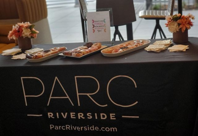 Happy Friday to all our wonderful residents here at Parc Riverside! As a token of our appreciation free donuts on us.   #PARCRIVERSIDE #NAVYYARD #TOLLDC #LUXLIVING
